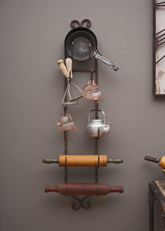 vallauris 6 bottle wall mounted wine rack
