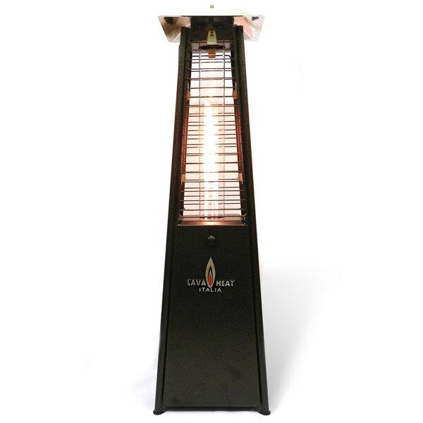 Lava Heat Flame 11,000 BTU Propane Tabletop Patio Heater   Wayfair