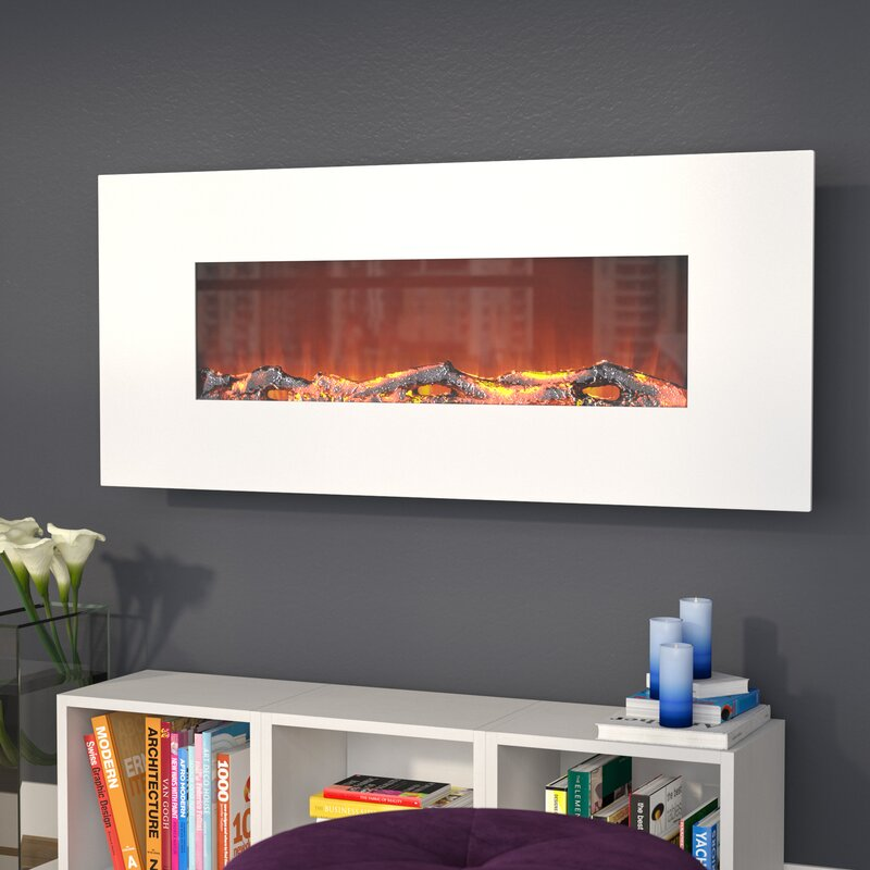Zipcode Design Lauderhill Wall Mounted Electric Fireplace Reviews