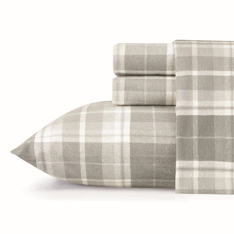 Plaid Flannel Sheets Queen Click To Expand Yarndyed 100