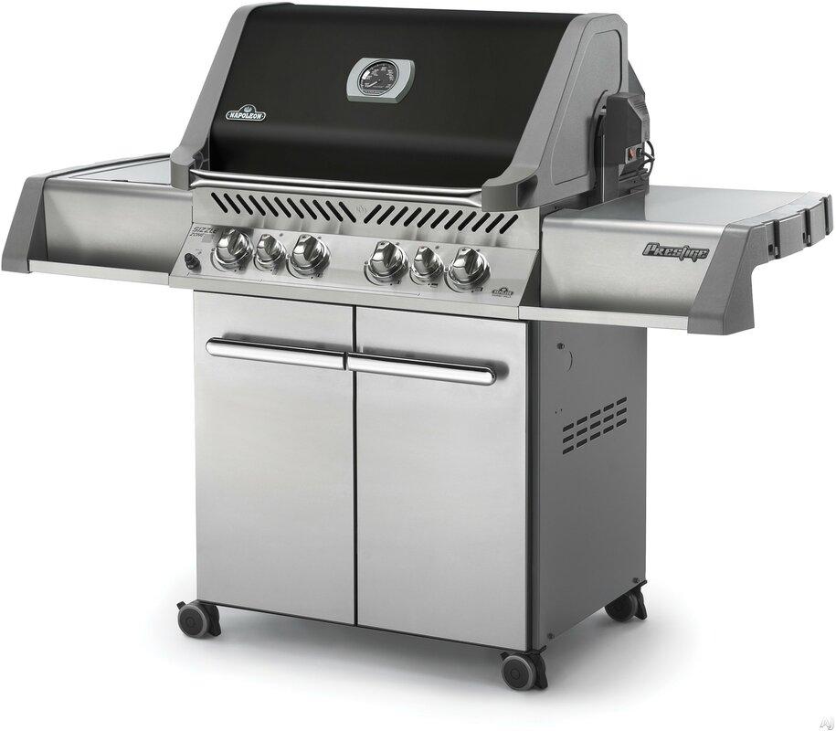 Prestige 6-Burner Gas Grill with Cabinet