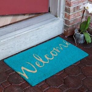 Dunbar Cursive Welcome Doormat