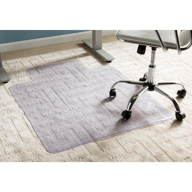 Merveilleux Wayfair Basics Office Low Pile Carpet Straight Edge Chair Mat