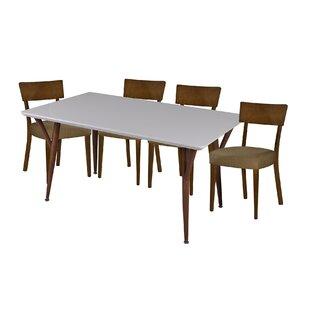 Hoosier 5 Piece Dining Set