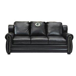 Nfl Coach Leather Sofa