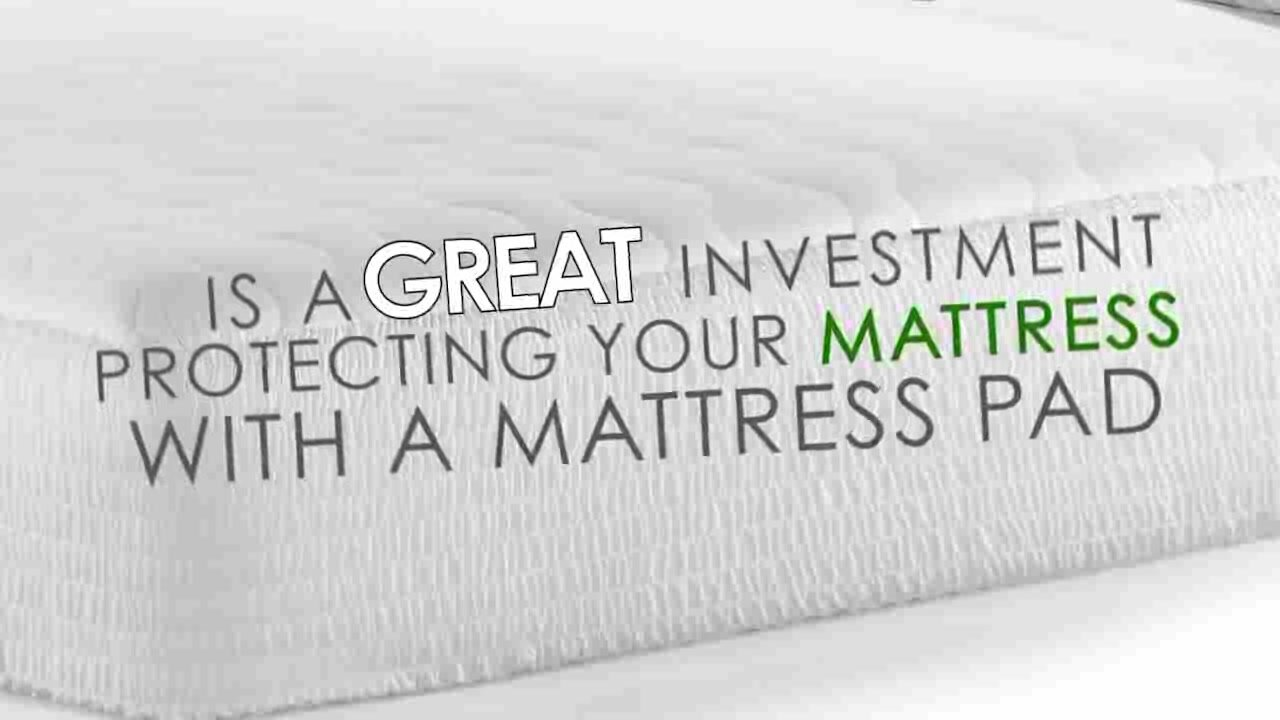 Stain Release Antimicrobial Polyester Mattress Pad