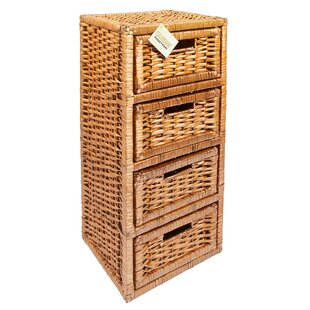 Search results for  4 drawer wicker storage units   sc 1 st  Wayfair & 4 Drawer Wicker Storage Units | Wayfair.co.uk