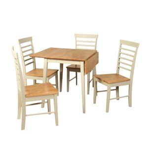 Berlin Folding Dining Set With 4 Chairs