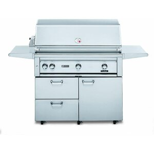 3-Burner Natural Gas Grill with Smoker