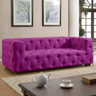 Willa Arlo Interiors Abadie Tufted Large Chesterfield Sofa | Birch Lane
