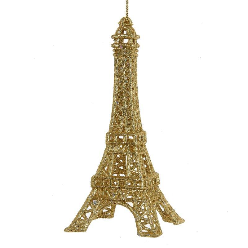 Kurt Adler Acrylic Eiffel Tower Ornament & Reviews | Wayfair