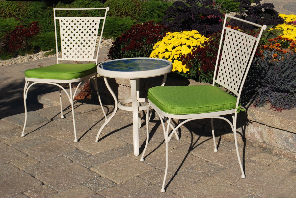 Outdoor Innovation Artisan 3 Piece Bistro Set With