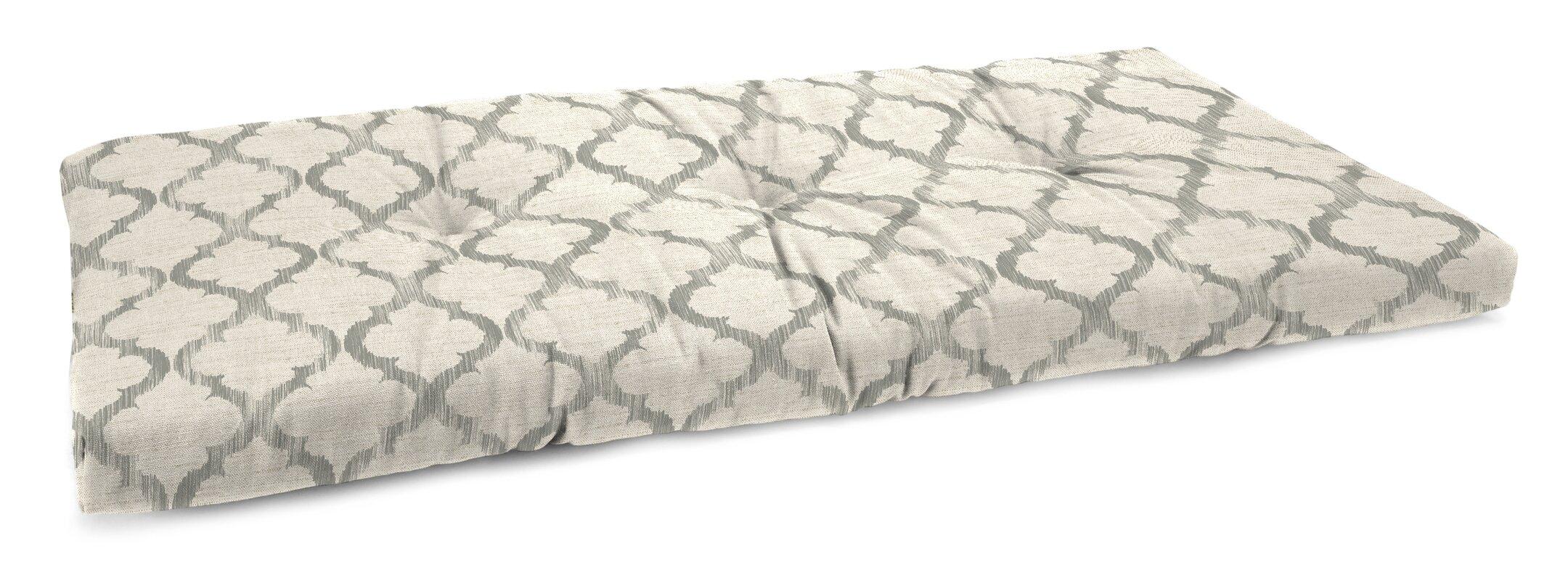 Laurel Foundry Modern Farmhouse Tufted Linen Indoor Bench Cushion Reviews Wayfair