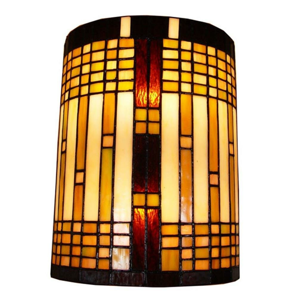 AmoraLighting Geometric 2-Light Wall Sconce & Reviews | Wayfair
