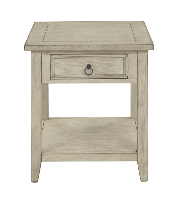 Stas 1 Drawer End Table with Storage Reviews Joss Main