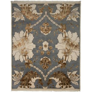 Jewel Hand-Knotted Area Rug