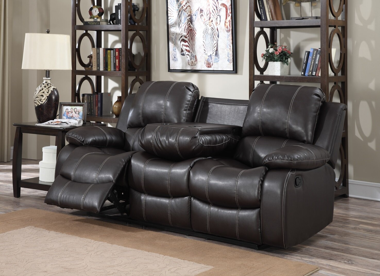 Red Barrel Studio Girton 3 Seat Double Reclining Sofa Wayfair