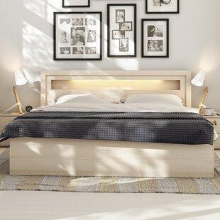 Suede Storage Bed Wayfaircouk