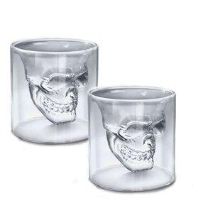 Double Skull Shot Glass (Set of 4)