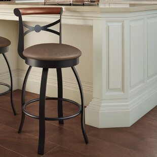 Library Luxe Style Bar & Counter Swivel Stool