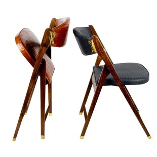 Superbe Leather Padded Folding Chair