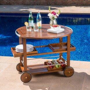 Kaing Wood Bar Cart