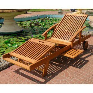 Joaquin Balau Outdoor Chaise Lounge
