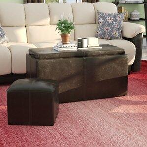 Clutton 3 Piece Coffee Table Set by La..