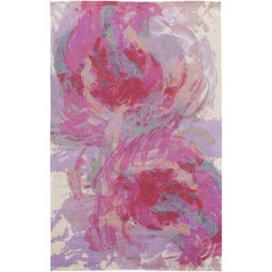 Donie Hot Pink Area Rug