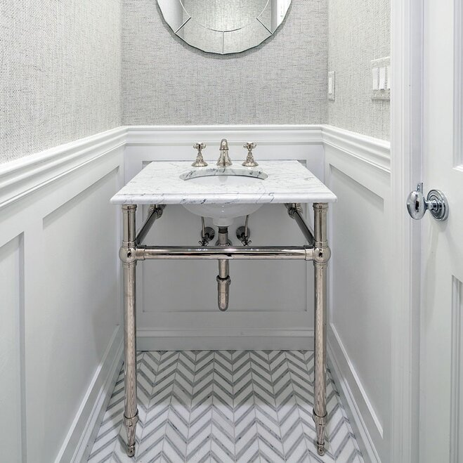 white patterned bathroom floor - Images Of Bathroom Floors