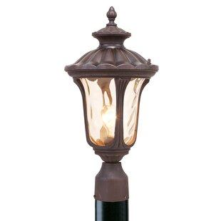 Outside lamp post lights wayfair gunnell outdoor post light aloadofball Gallery