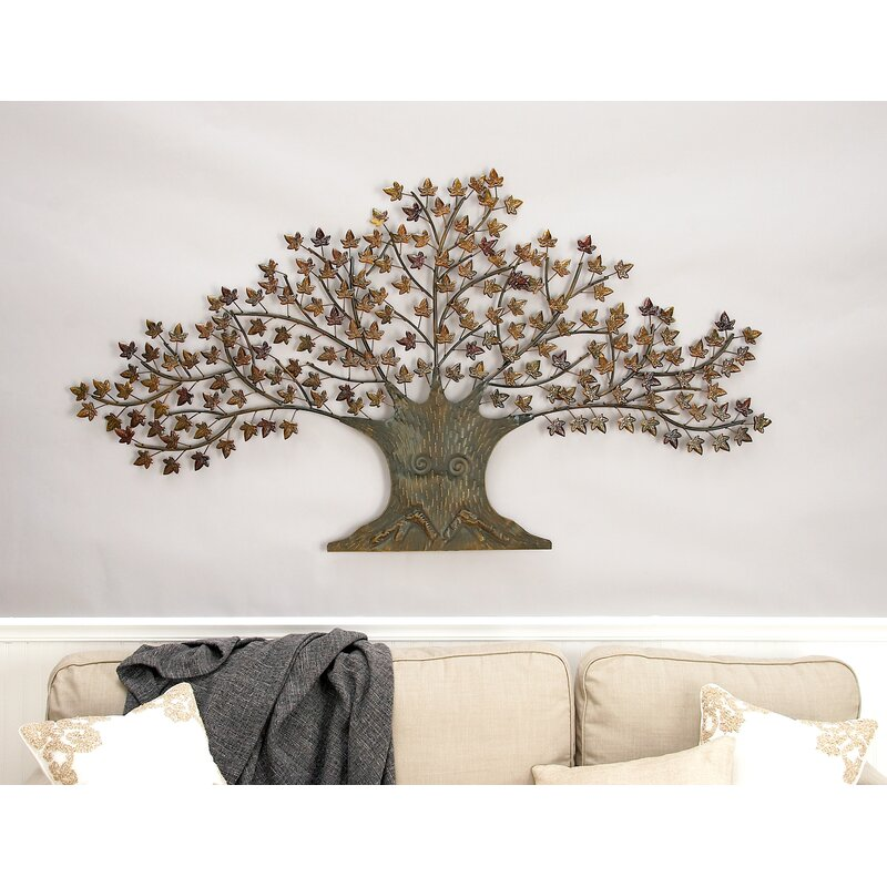 Cole & Grey Metal Tree Wall Decor & Reviews | Wayfair