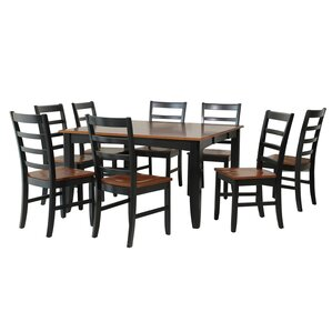 Wabasca 9 Piece Dining Set by TTP Furnish