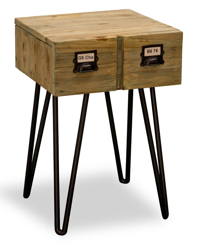 borough wharf beistelltisch harbiye mit stauraum. Black Bedroom Furniture Sets. Home Design Ideas