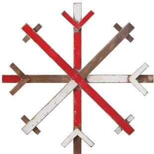 Large Wooden Snowflakes Wayfair