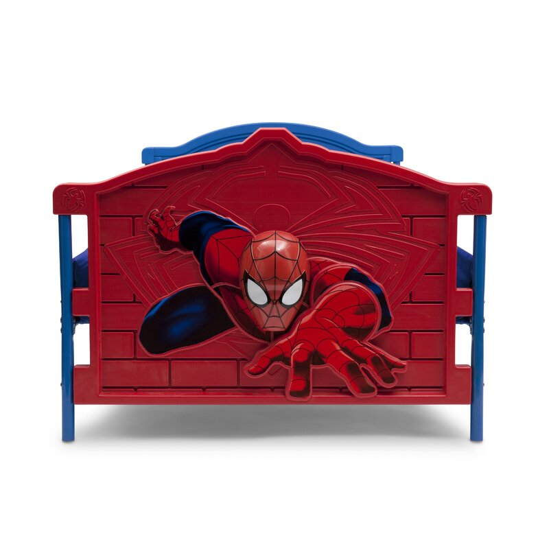 204ee74583184 Delta Children Marvel Spider-Man 3-D Twin Convertible Bed   Reviews ...