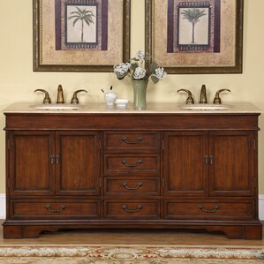 vanity double sink 72.  72 Inch Vanities You ll Love Wayfair