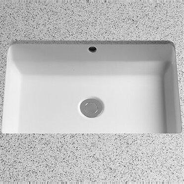 Toto Vernica Design I Rectangular Undermount Bathroom Sink With