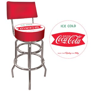 Coca Cola 31 Swivel Bar Stool