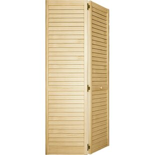 Plantation Louver Wood Panel Bi-Fold Door  sc 1 st  Wayfair & Interior Louvered Doors | Wayfair