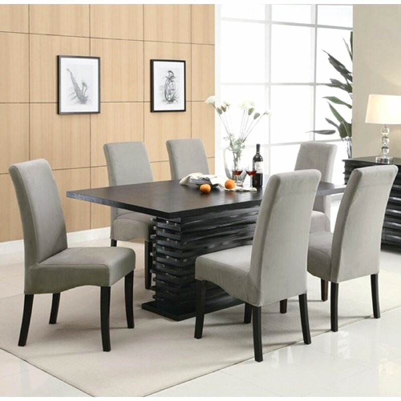 Beautiful Dining Room Table Modern Part - 14: Jordan 7 Piece Dining Set