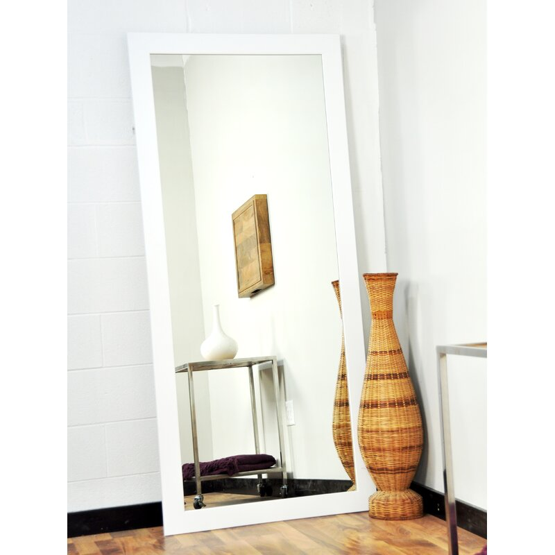products oversized pottery o mirror floor berke leaning barn