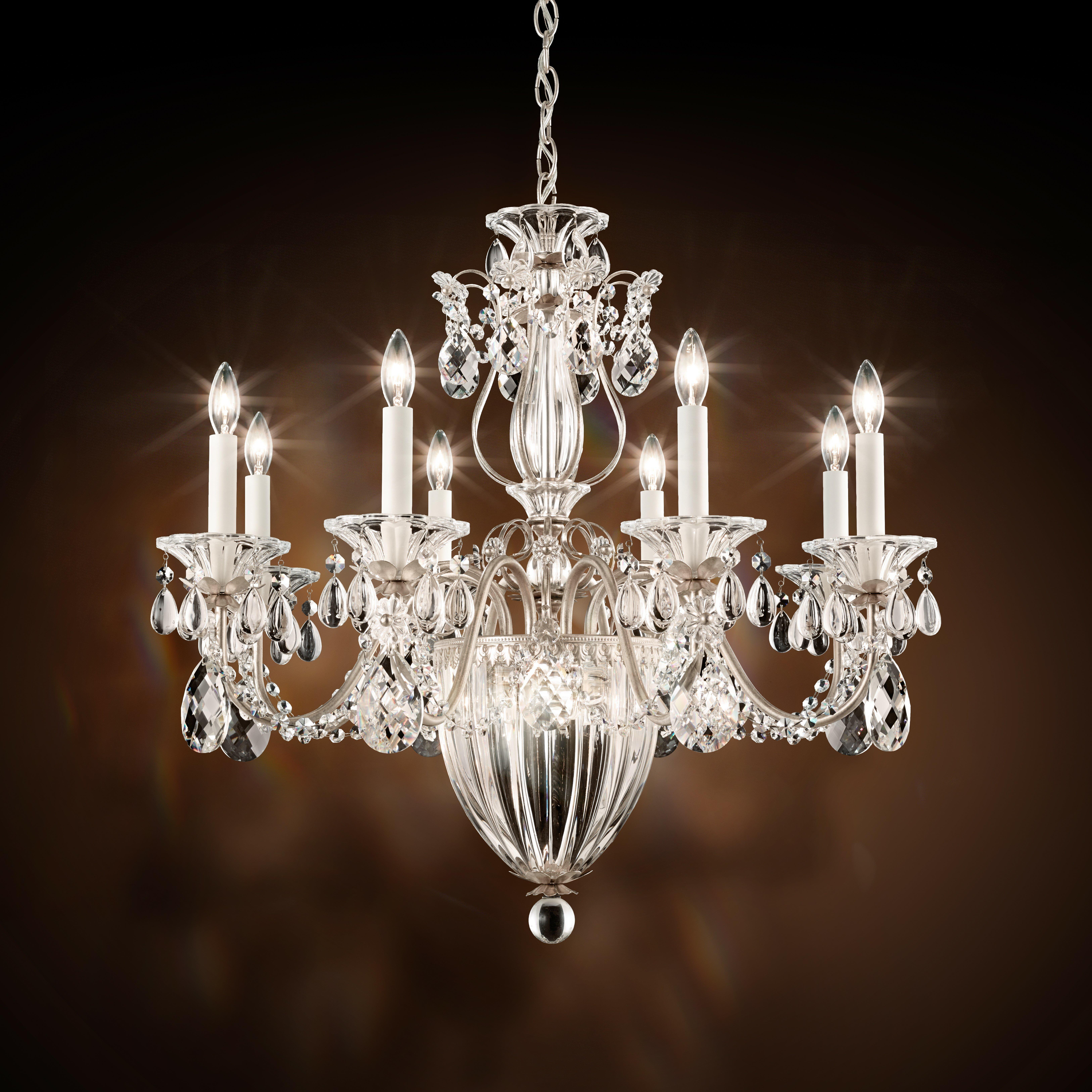 Schonbek wayfair bagatelle 8 light candle style chandelier arubaitofo Gallery