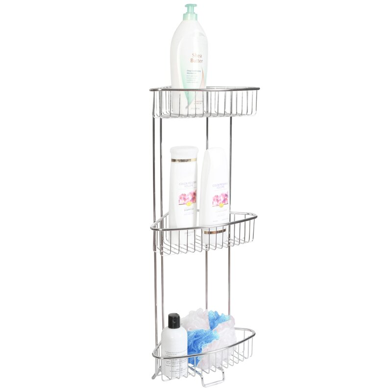 Rebrilliant Free Standing Shower Caddy & Reviews | Wayfair