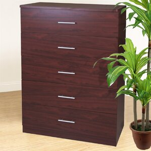5 Drawer Chest by Hazelwood Home