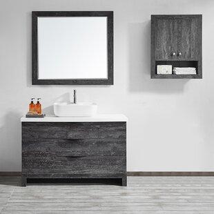 Tous les meubles-lavabos de salle de bain: Ton du bois - Bois gris ...