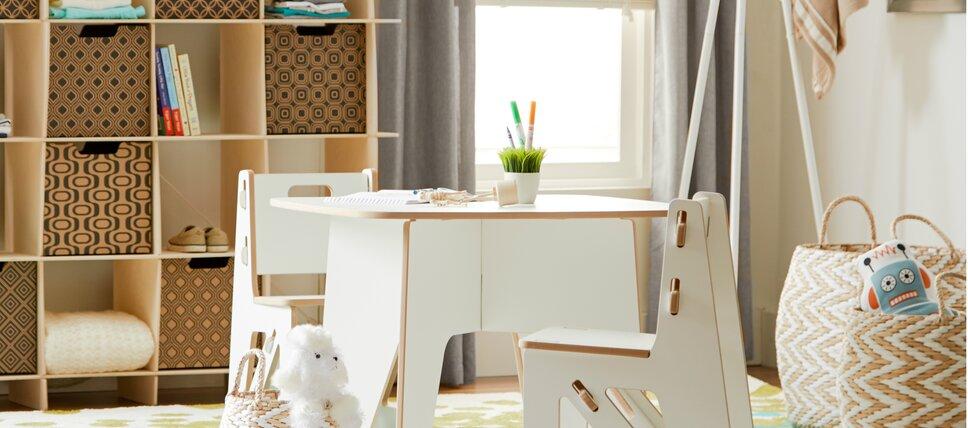 Playroom + Storage