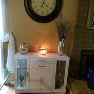Excellent Dufferin 4 Door Accent Cabinet Home Interior And Landscaping Ferensignezvosmurscom