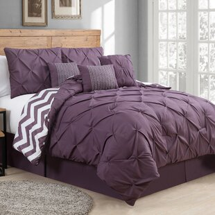 King Size Purple Comforters Sets Youll Love Wayfair