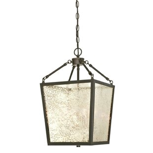 Carriage lights indoor wayfair khan 4 light lantern chandelier mozeypictures Images